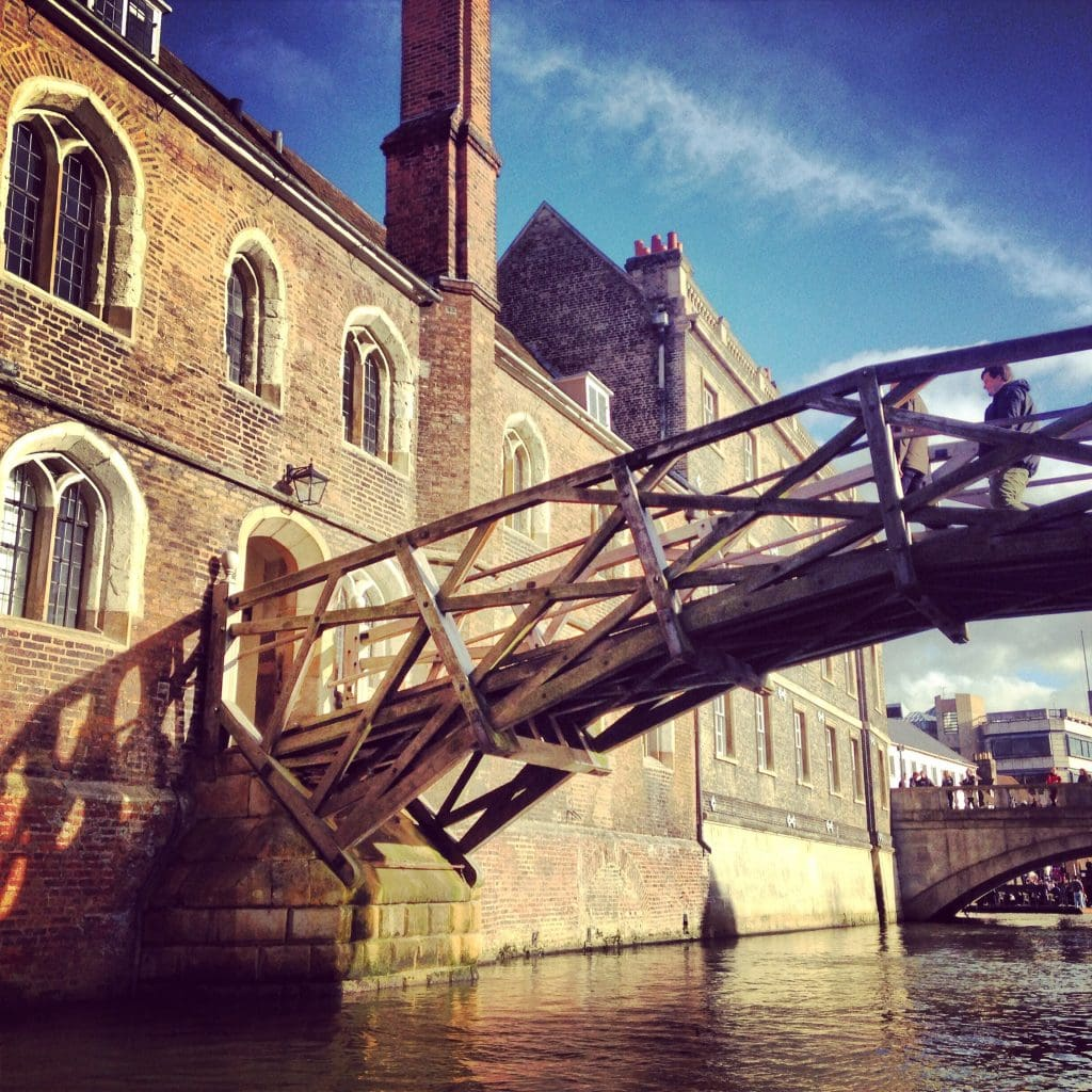 Newton Bridge, Queen's College, Cambridge University