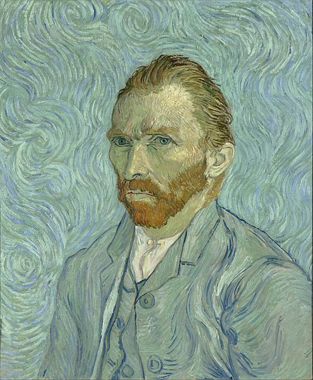 Self Portrait - Vincent Van Gogh, 1889