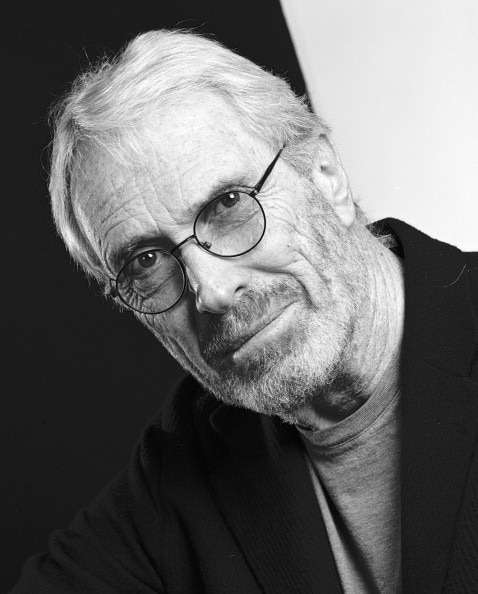 """Mark Strand. Featured in Mark Strand's """"The Weather of Words"""" in the Examined Life Library."""