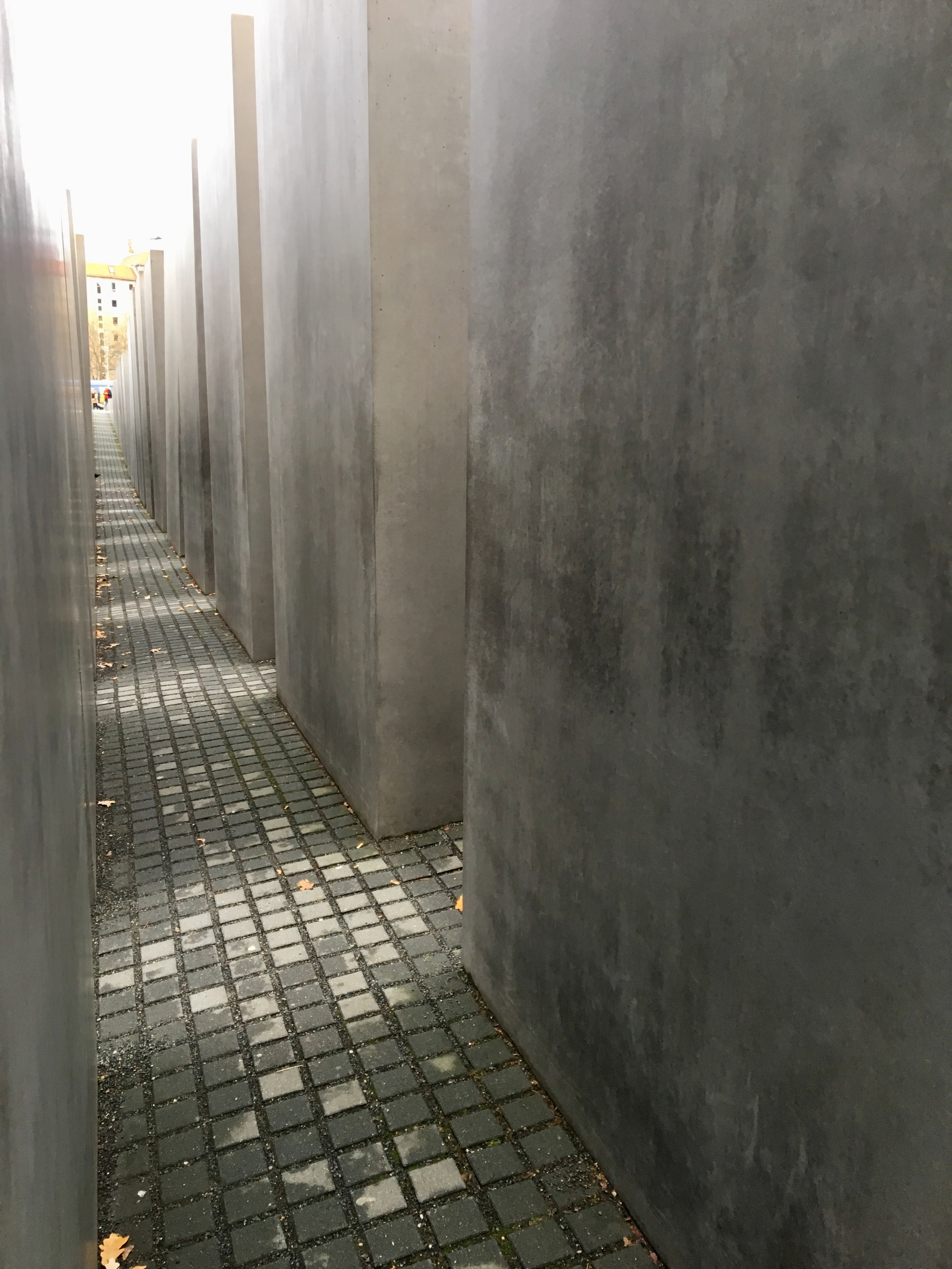 """Memorial to the Murdered Jews of Europe, Berlin featured in post """"Carrying the Burden of Witness."""""""