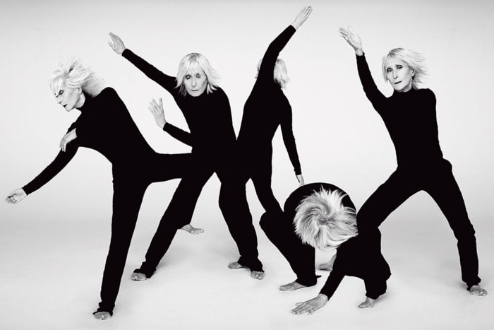 Twyla Tharp, 2015. Photo: Ruven Afanador. https://www.vulture.com/2015/11/twyla-tharp-on-her-troupes-50th-anniversary.html