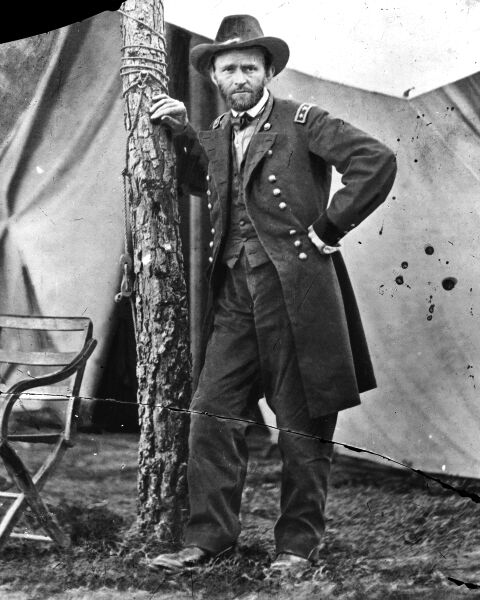 "Photo of U. S. Grant. Featured in Grant's ""Personal Memoirs of Ulysses S. Grant"" in The Examined Life Library."