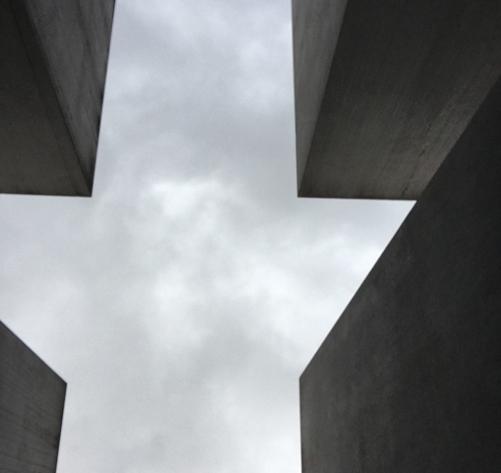 """Photo of Memorial to the Murdered Jews of Europe, Berlin. Featured in Elie Wiesel's """"Night"""" in The Examined Life Library."""