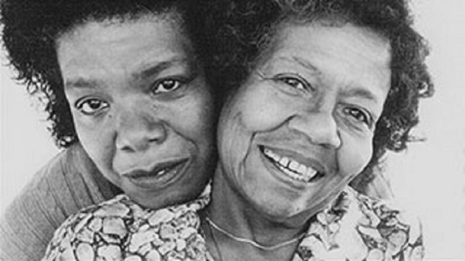 "Maya Angelou and Vivian Baxter used in for ""Mom & Me & Mom"""