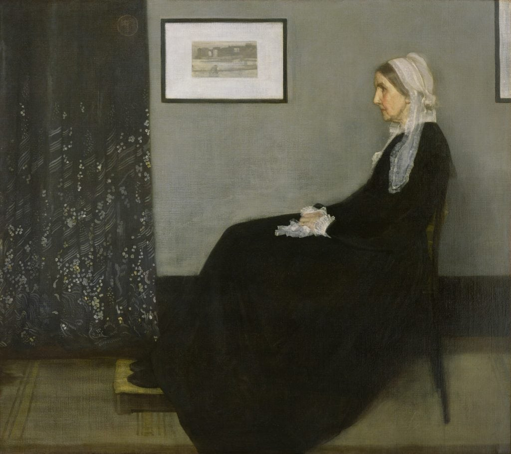 """Arrangement in Grey and Black No.1"" by James McNeil Whistler for use in post ""What We Talk About When We Talk About Mothers"""