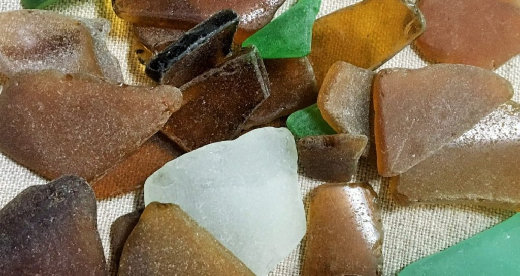 "Sea glass. Featured in Durga Chew-Bose's ""Too Much and Not the Mood"" in The Examined Life Library."