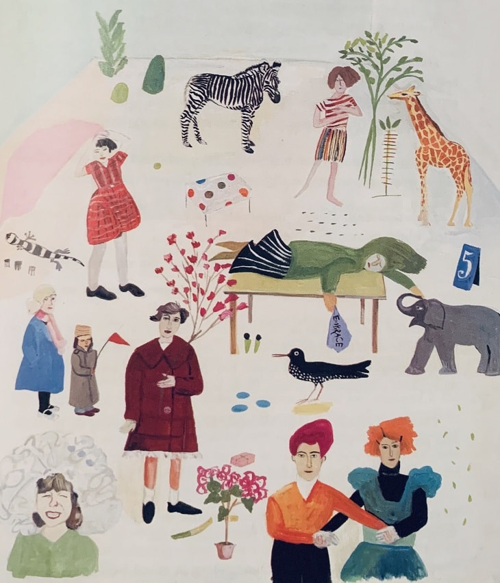 """Illustration by Maira Kalman featured in """"The Elements of Style (Illustrated)"""" in The Examined Life Library."""