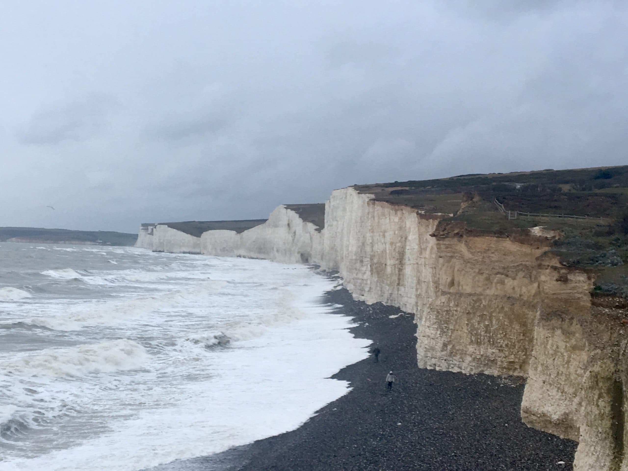 "Seven Sisters, Eastbourne, UK. Featured in Samuel Taylor Coleridge's ""The Major Works"" in the Examined Life Library."
