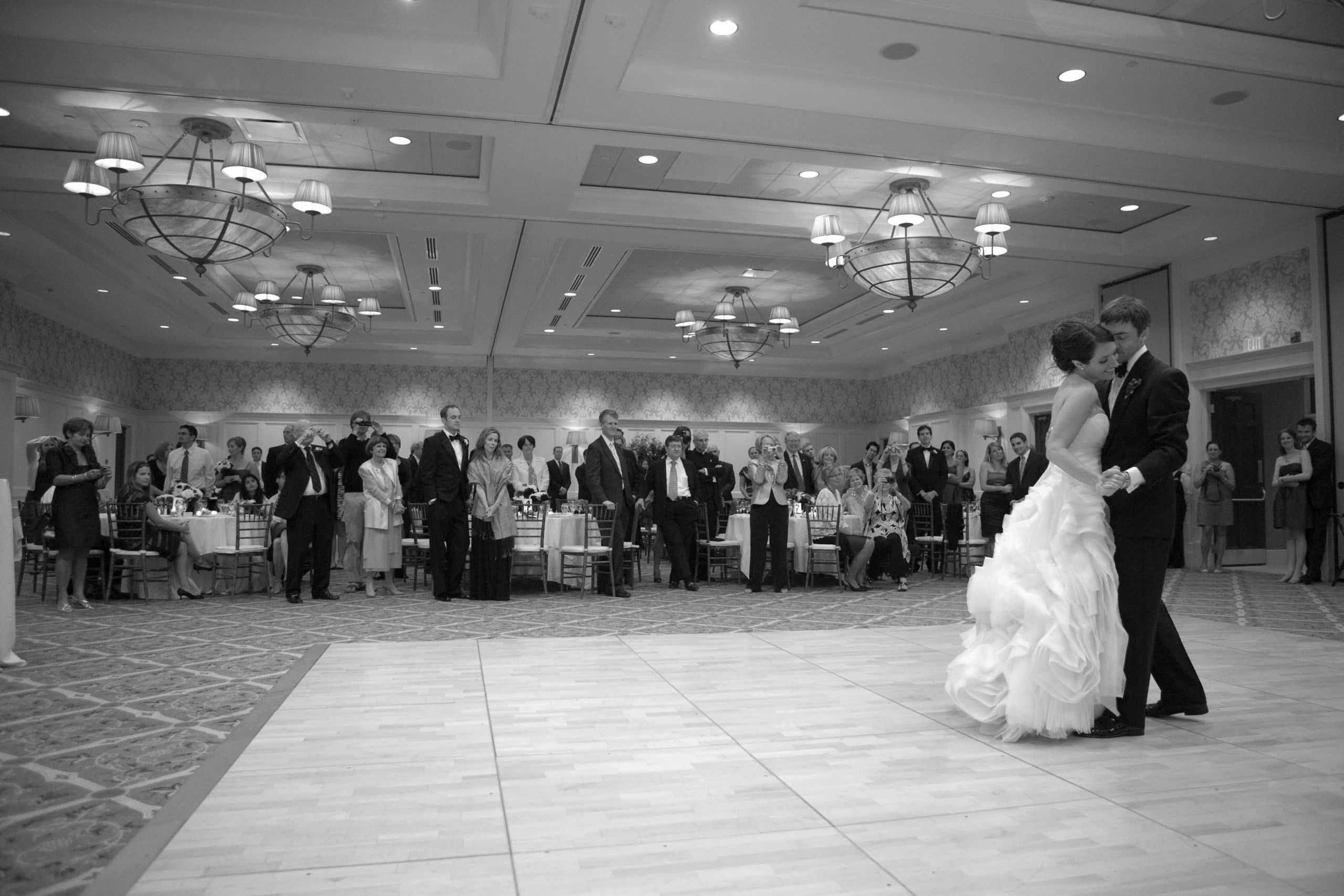 "Wedding dance featured in ""The Truth of Marriage."""