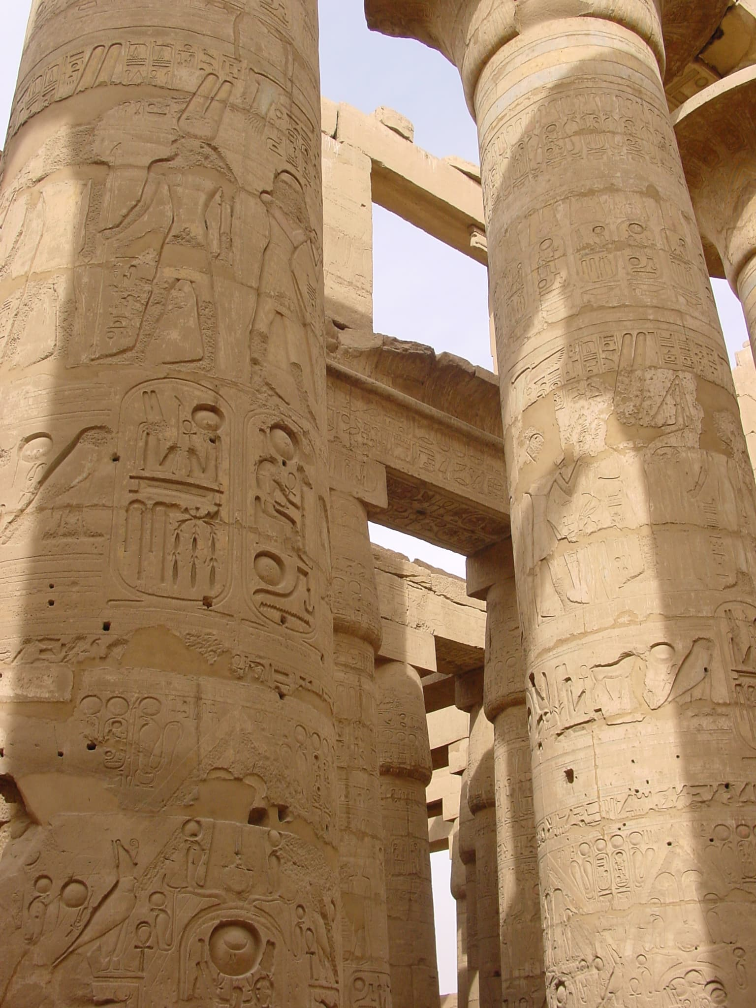 "Hieroglyphics at Karnak, Egypt. Featured in ""The Word is Not Enough"" in the Examined Life."