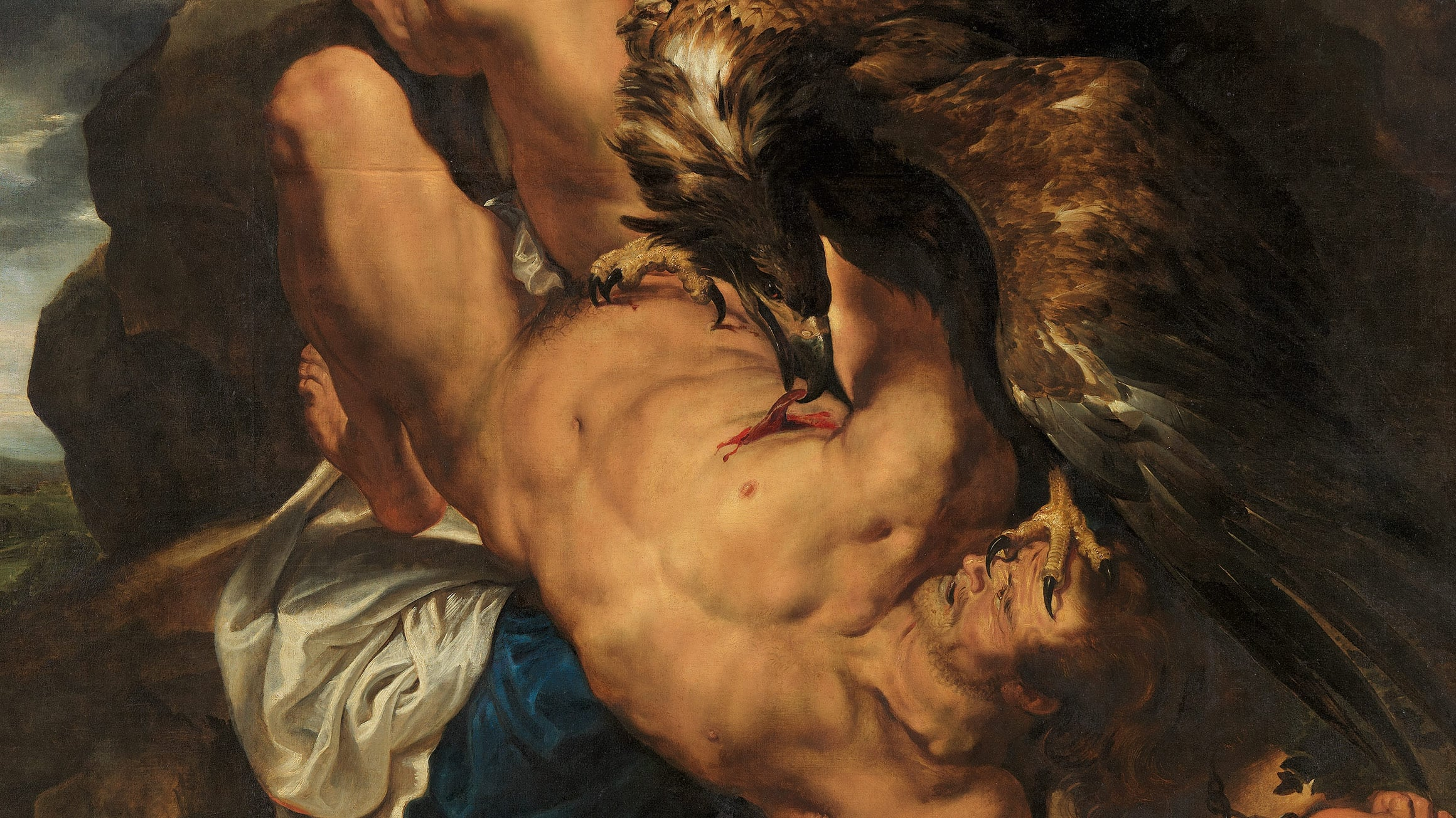 """Prometheus Bound"" by Peter Paul Rubens, 1618. Featured in Stephen Fry's ""Mythos"" in the Examined Life Library."
