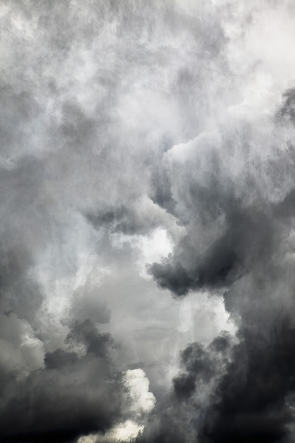 """Sky 21"" by Finnish photographer/artist Santeri Tuori, featured in ""The Need to Empty Ourselves."""