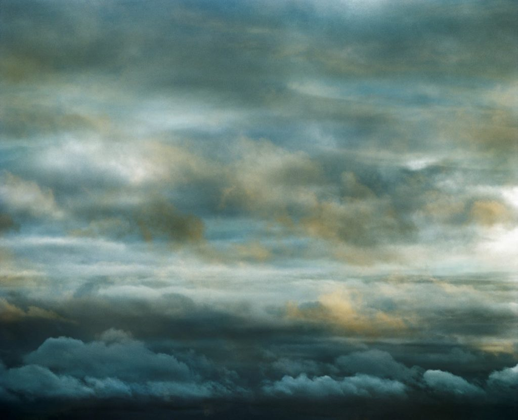 """Sky 10 by Santeri Tuori. Featured in Mark Strand's """"The Weather of Words"""" in the Examined Life Library."""
