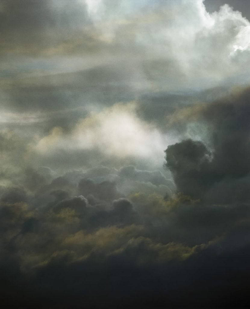 """""""Sky 11"""" by Santeri Tuori. Featured in Mark Strand's """"The Weather of Words"""" in the Examined Life Library."""