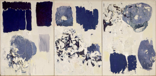 """Joan Mitchell's """"Bluets"""" featured in Lydia Davis' """"Essays"""" in the Examined Life Library."""
