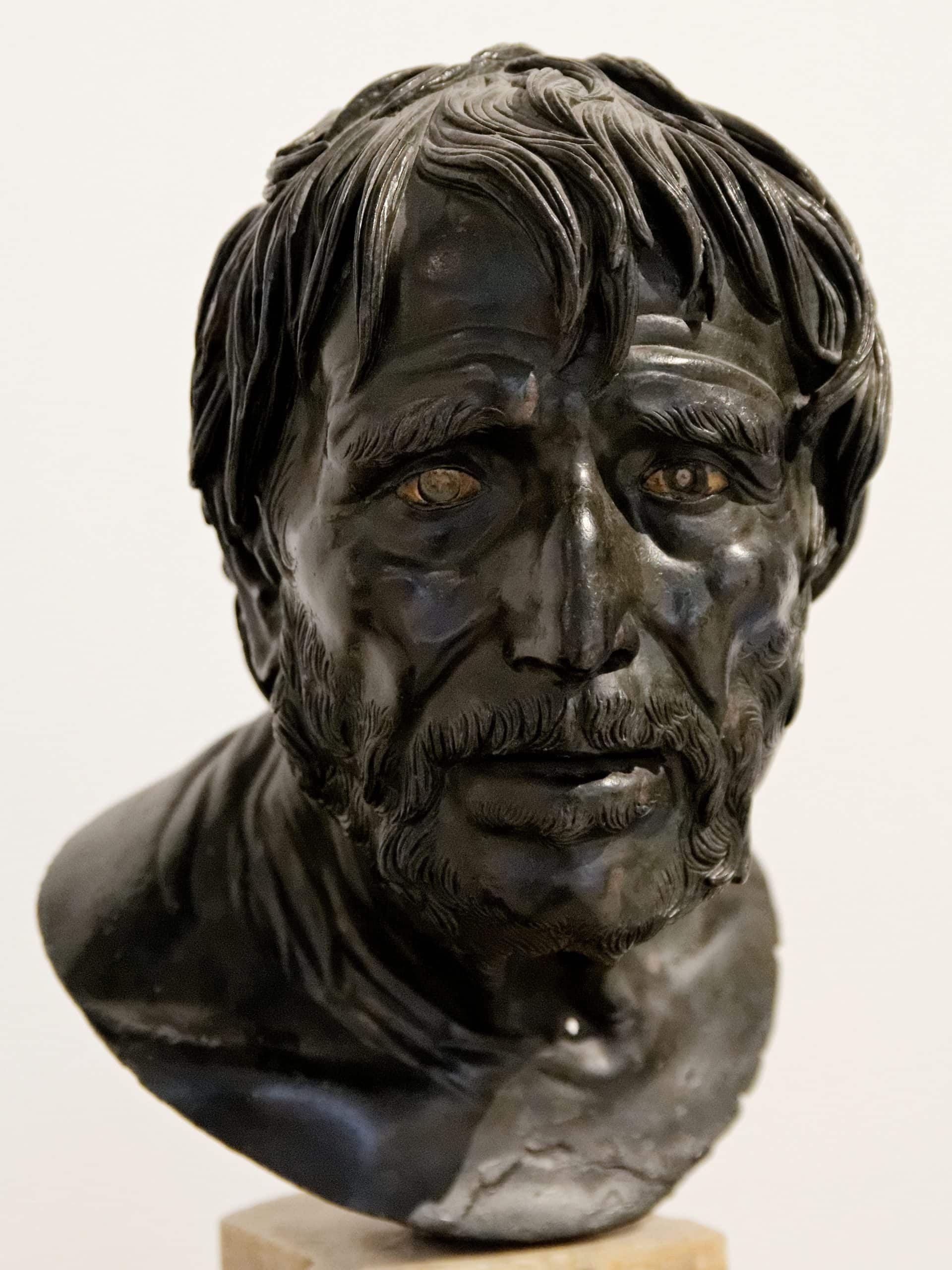 "Pseudo-Seneca, featured in Seneca's ""Letters of a Stoic"" in The Examined Life Library."