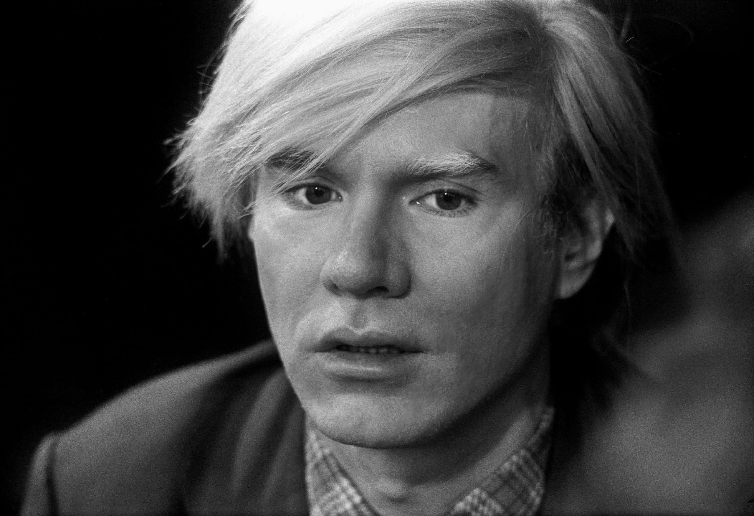 """Photograph of Andy Warhol, 1972. Featured in Andy Warhol's """"The Philosophy of Andy Warhol"""" in the Examined Life Library."""