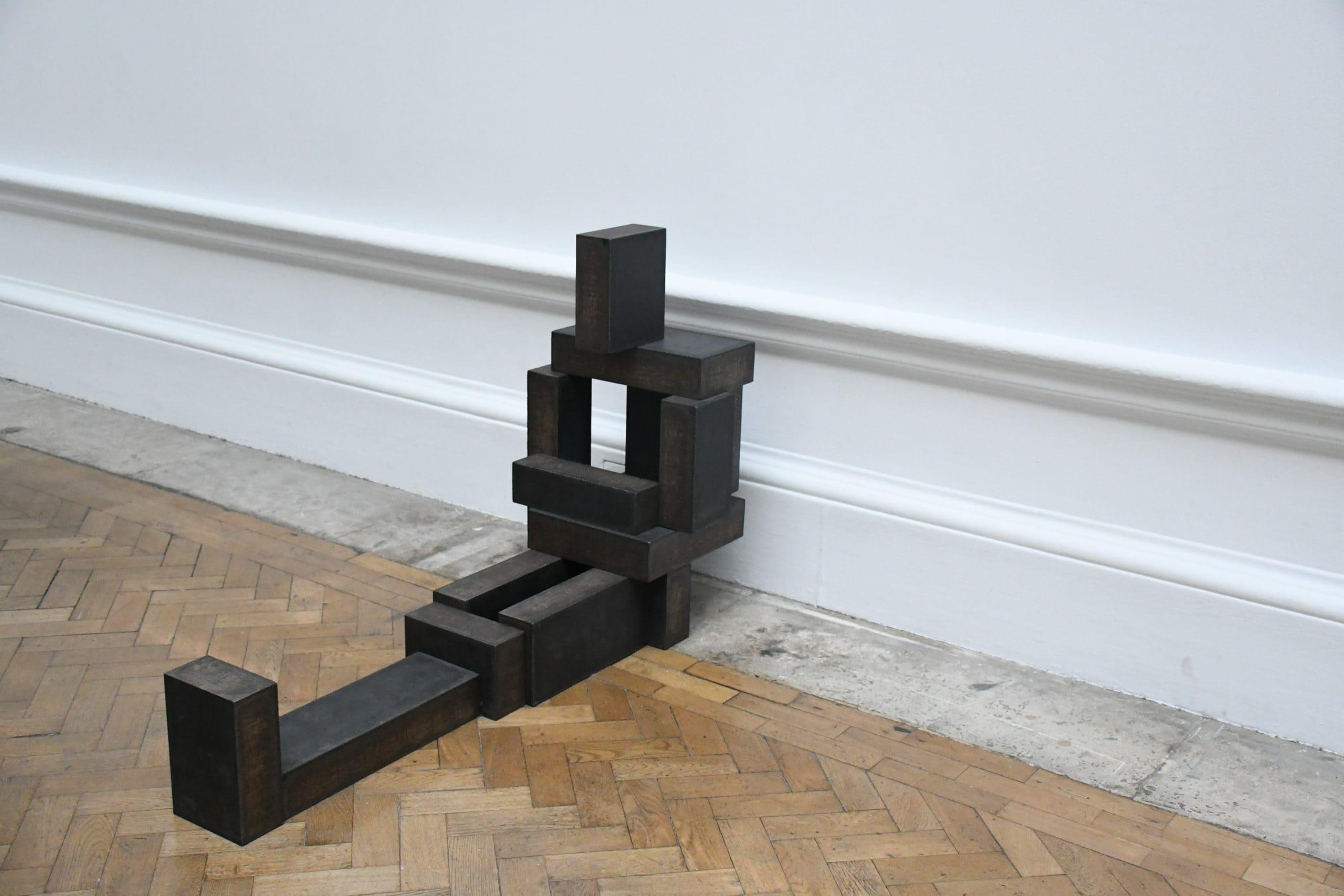 """Antony Gormley sculpture. Photograph by Ellen Vrana. Featured in """"An Increasing Atomization of Things"""" on The Examined Life."""