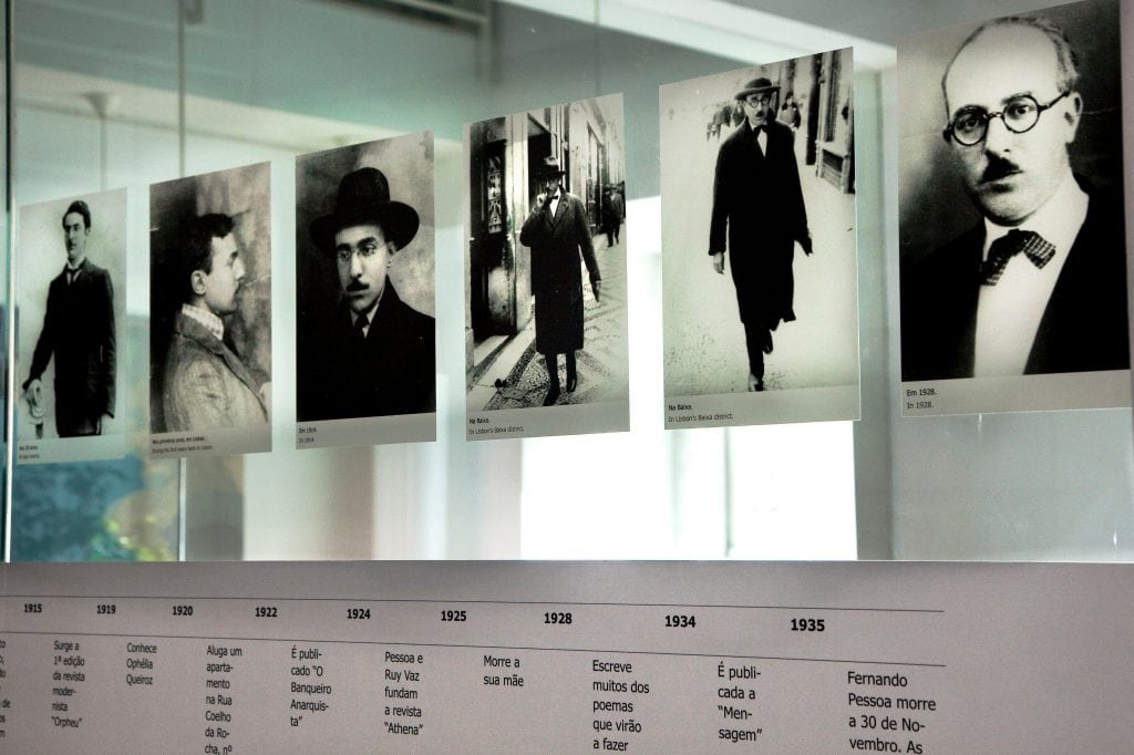 """Photograph from Casa Fernando Pessoa, featured in Pessoa's work """"I Have More Souls Than One"""" in the Examined Life Library."""