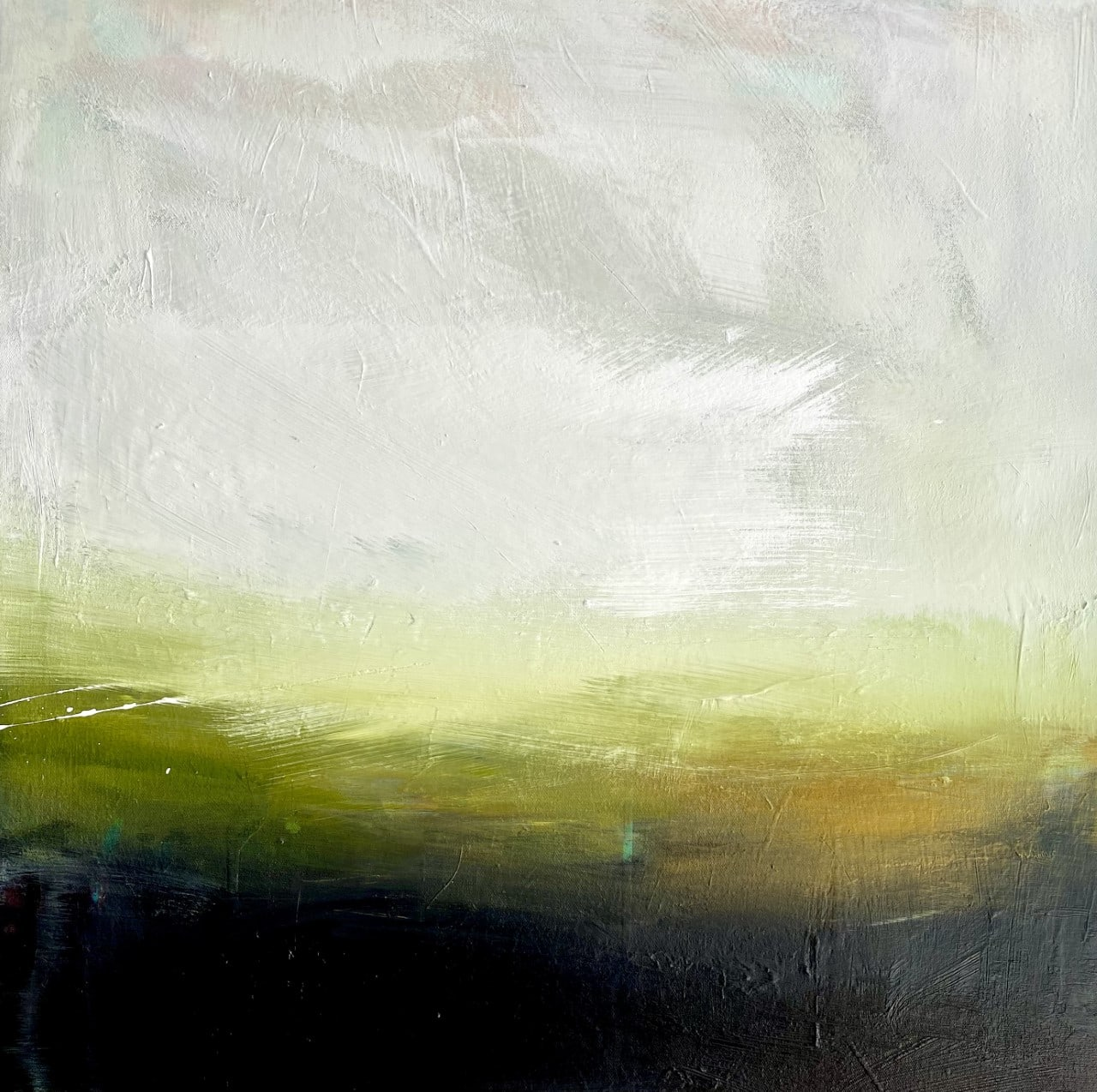 """Clare Millen's """"The Quiet"""", acrylic on canvas."""
